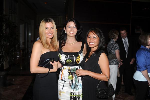 Helene Elsterowicz, Maria Rassoulis and Mia Temblador