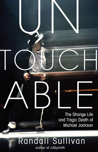 "Michale Jackson, ""Untouchable,"" book by Randall Sullivan. Stock agency cover photo."