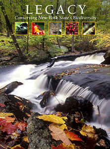 Legacy, Conserving New York State's Biodiversity, book by the American Museum of Natural History. Stock photos.