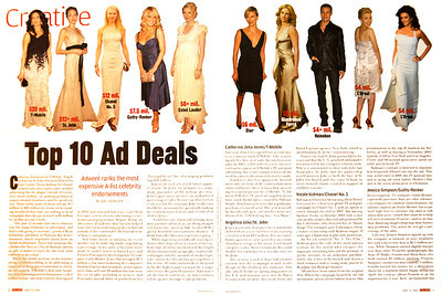 Adweek Magazine. Stock agency photos.