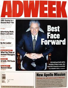 Adweek Magazine. Photo by Melanie Dunea.