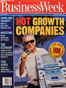 Business Week magazine. Photo by Brian Smith.