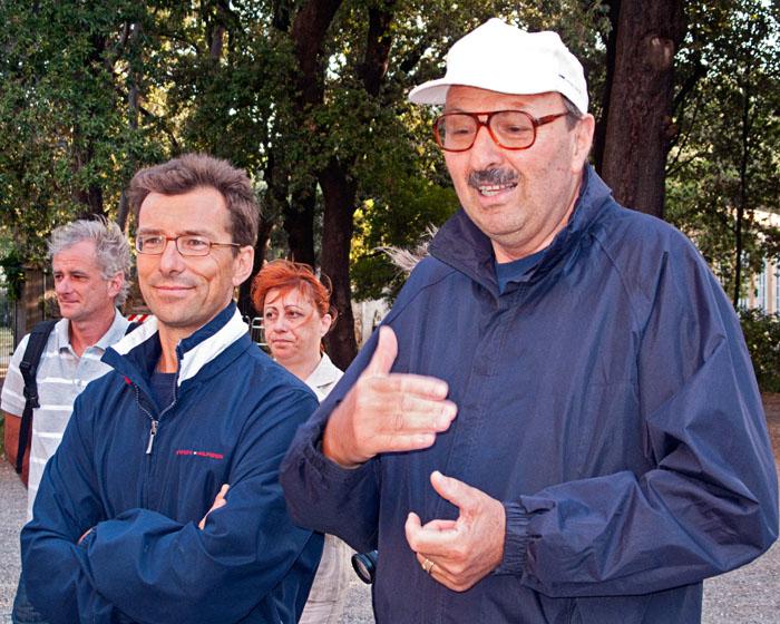 I due carissimi lider, Paolo (a destra) e Guido. Quanto sono stati bravi!