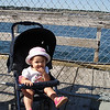 Riley Hegarty on the Salem Willows Pier. Riley's grandmother, Fran Centorino Hegarty, grew up on Columbus Ave. in the Willows, and was excited to share the experience with Rylie.<br />  <br /> The second two pictures were taken at Rylie's birthday party<br /> during the summer of 2008. <br /> Pictured are three of our granddaughters,<br /> Taryn, Chloe and Rylie Hegarty, three cousins <br /> enjoying the sandbox and pool together.<br />  <br />  <br /> Fran Centorino Hegarty