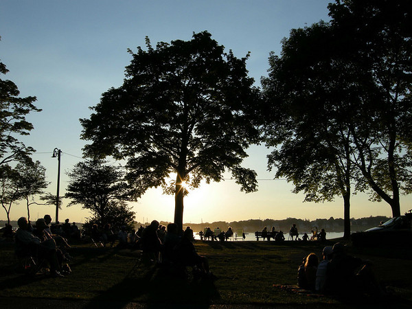 Sunset at Salem Willows, picture by Stuart Silverman of Peabody