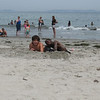 Zachary Stephanides of Salem and Joshua Raeford, a Fresh Air Fund host child from the Bronx, NY enjoyed a day at the beach last summer.<br /> <br /> Both pictures are from the Summer of 2008