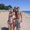 Suzie Ballou Carter (center) of Salem with sister Heidi Ballou Loring's kids, Kirsten Loring and James Loring.