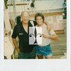 """Dave Margulis and Mel Fisher on the Set Of, """"Dreams of Gold""""  Dave plays a treasure diver on Mel's ship. Cliff Robertson portrays Mel fisher."""