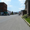 Main Drag of Red Lodge, MT. At least 5 motorcycle accessory shops