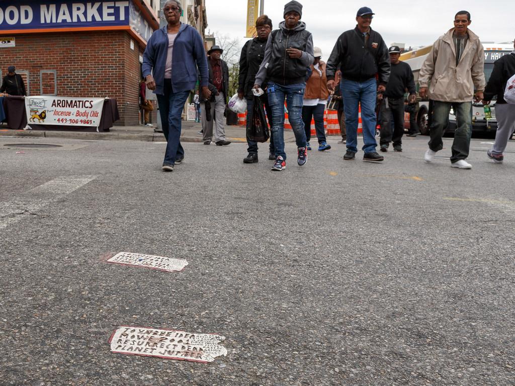 Saratoga and Eutaw Streets, Baltimore