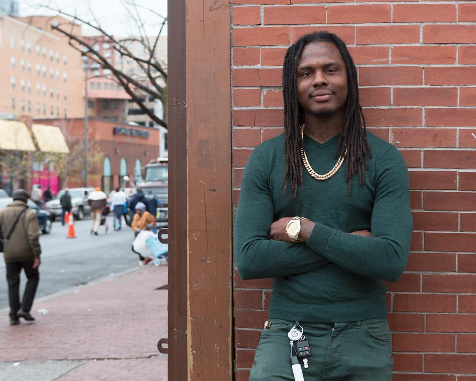 Man on the Street, Baltimore
