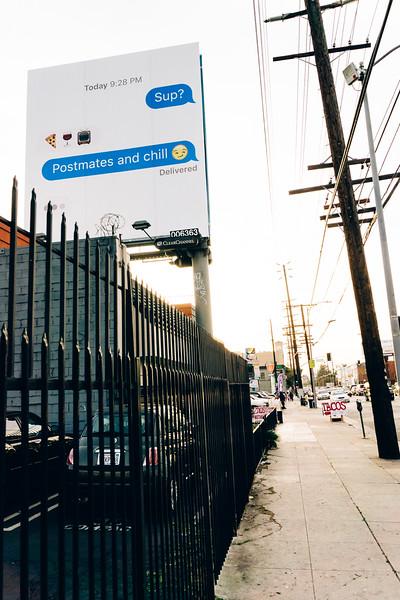 SANTA MONICA BLVD & VINE STREET