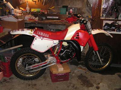 1 17 2015 Tom's Yamaha YZ125, after restoration PICT5407