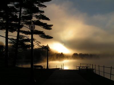 2 8 2015 Lake Flower, dawn, sep 23, 2005