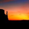 7 10 2015 Dawn, The Mitten Buttes, Monument Valley,Utah-Arizona March 1994