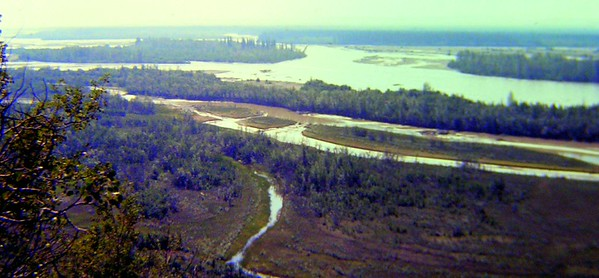 2 14 2015 Tanana River from Steese Hwy,  near Fox, Alaska, aug 1972c PICT0068a