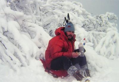 2 4 2015 Tom on St Regis Mt, feb 4, 1979 PICT9115