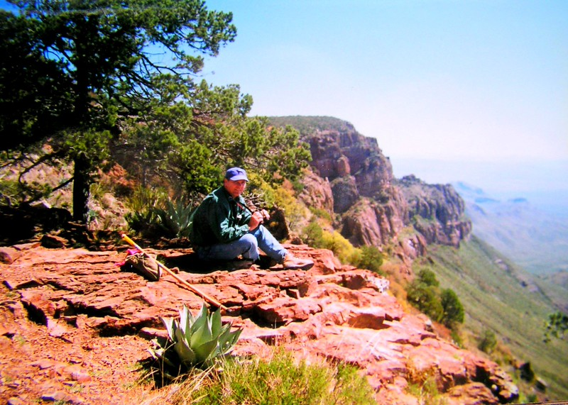 7 19 2015   South Rim Trail, Chisos Mts, Big Bend Nat Pk, TX, apr 19, 1997b