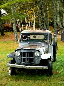 2 5 2015 1954 Willys For Sale, Saranac Lake, oct 4, 2012 DSCN1575a