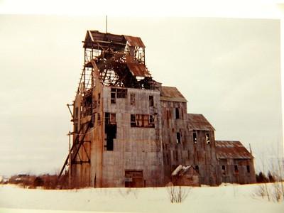 2 3 2015 Abandoned copper mine, Hancock, Michigan, march 1964,
