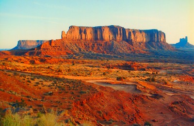 1 12 2015 Monument Valley, morning, mar 3, 1994