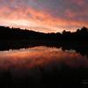7 11 2015 Summer Solstice Sunrise, Saranac Lake High School Pond, june 21, 2014, 510am (2)