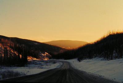 1 17 2014 south of Watson Lake, BC, Alaska Hwy, nov 28, 1972