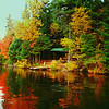 4 8 2014  West Canada canoe trip, Cedar Lake lean-to #3, oct 9, 1989a