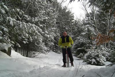 1 29,2014  Icebiking, SLHS Trail, Christmas morning, 2009