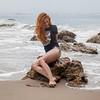 PRETTY Ginger Redhead Bikini Model! Canon 5D Photos of Beautiful Redhead Swimsuit Model! Pretty Blue Eyes!