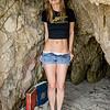 PRETTY MODEL Gold 45 Goddess in Sea Cave!! Sony A7R RAW Photos of Blond Bikini Swimsuit Model Goddess! Carl Zeiss Sony FE 55mm F1.8 ZA Sonnar T* Lens! Lightroom 5.3 !