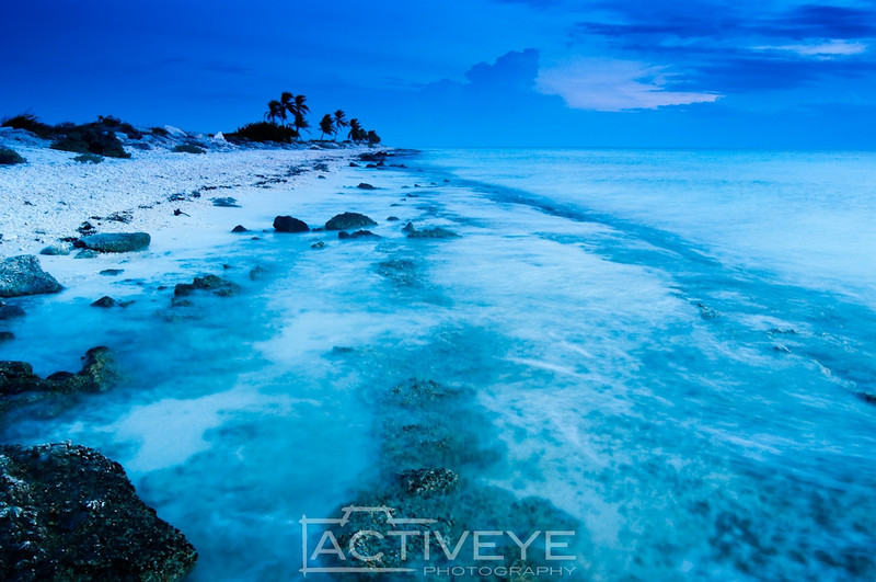 15. Pink beach after sunset - Bonaire (Dutch Caribbean)