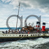 "PS Waverley at Helensburgh Pier  ,14 July 2013, Picture: Al Goold ( <a href=""http://www.algooldphoto.com"">http://www.algooldphoto.com</a>)"