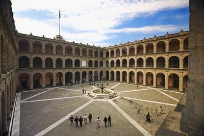 m002, Fig 1.2 Main Plaza (Zocalo) in Mexico City<br /> Choice 6 of 6