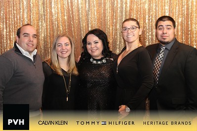PVH Holiday Party Gold