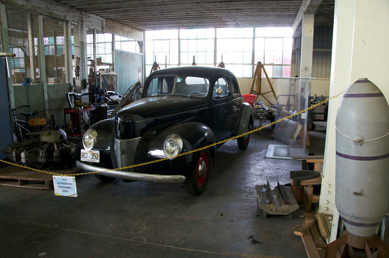 A car contemporary with the Pearl Harbor Attack.
