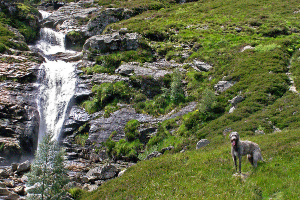 The Falls of Unich, on the way to . . . <br /> <br /> 17/07/12
