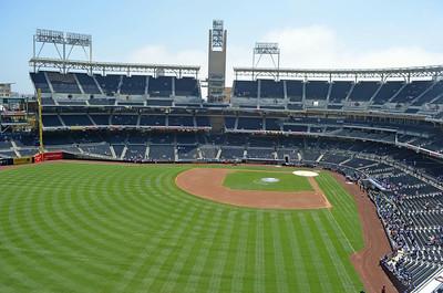 Padre Game at Petco Park 8/31/2014
