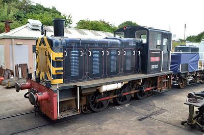 D2192 'Titan' Class 03 at Churston Station  29/08/15.