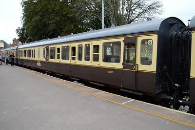 59517 Class 117 DMU Coach at Paignton  29/08/15.