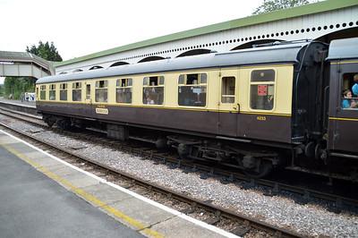 4233 MK1 TSO at Churston Station  29/08/15.