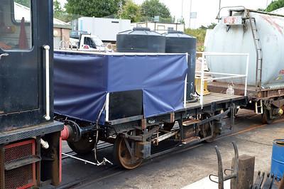 65495 12t Flat Wagon at Churston Station  29/08/15.