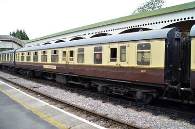 9275 MK1 BSO at Churston Station  29/08/15.