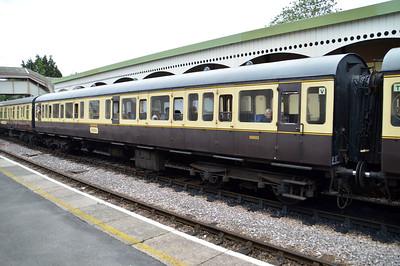 59503 Class 117 DMU Coach at Churston Station  29/08/15.