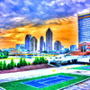 Midtown from Atlantic Station of I75