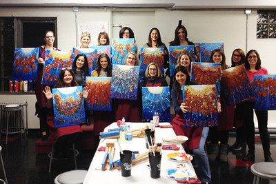 Painting With a Twist Thursday, November 7