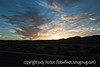 New Mexico sunset over Bosque del Apache National Wildlife Refuge in NM