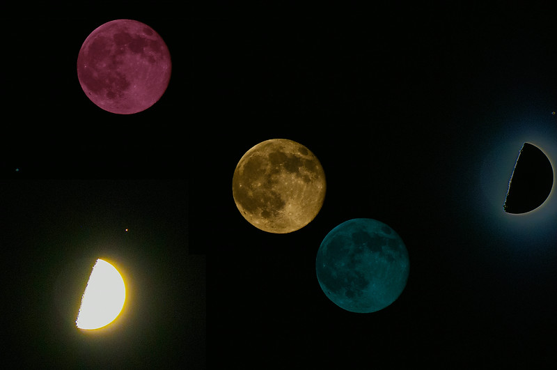 Lunar and eclipses