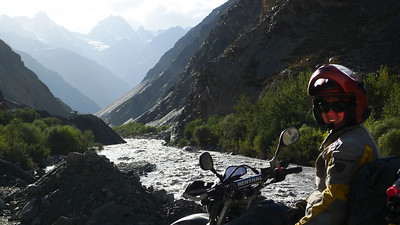Em reaches the river - to says it's wild, violent and untamed would be an understatement!