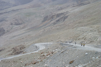 Rocky, gravelly AND and a hairpin-filled descent... now we're talking!